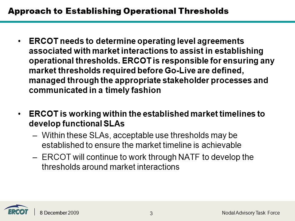 Market Operating Level Agreement Ola Discussion Betty Day 8