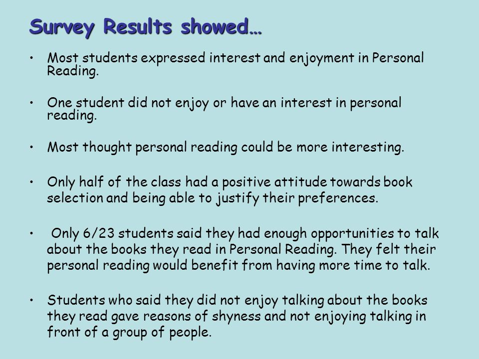 action research about reading habits