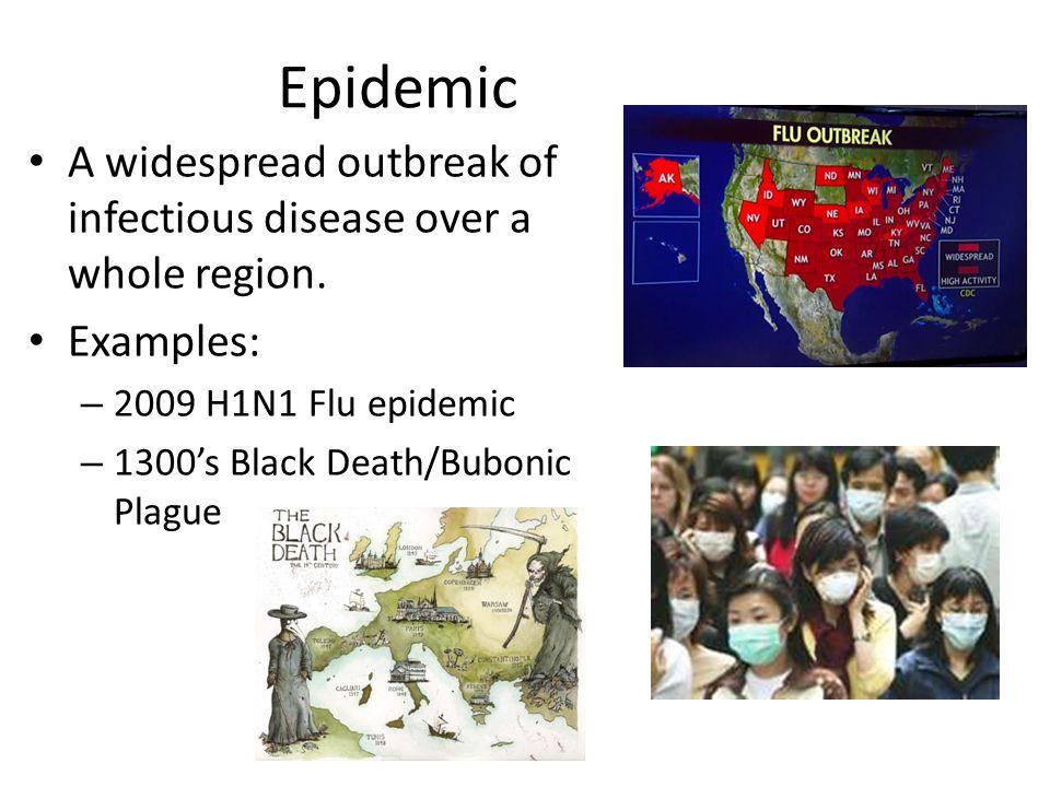 epidemic disease example