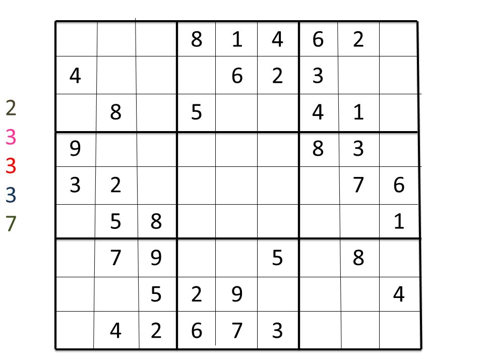 By Luke What Is Sudoku Sudoku Is A Number Game It Has 81 Squares