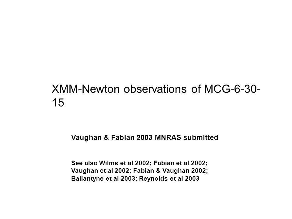 7 XMM Newton Observations