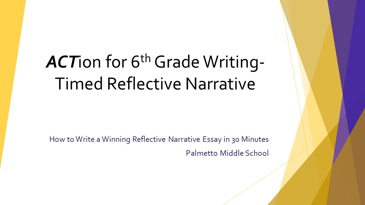 The Value Of Philosophy Essay  How To Write A Winning Reflective Narrative Essay In  Minutes Palmetto  Middle School Action For  Th Grade Writing Timed Reflective Narrative 1984 Critical Essays also Academic Research Essay How To Write A Winning Reflective Narrative Essay In  Minutes  Telling The Truth Essay