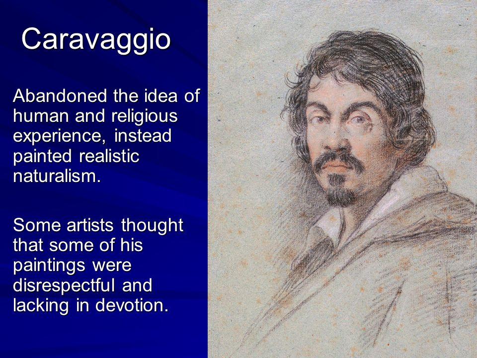 caravaggio influences