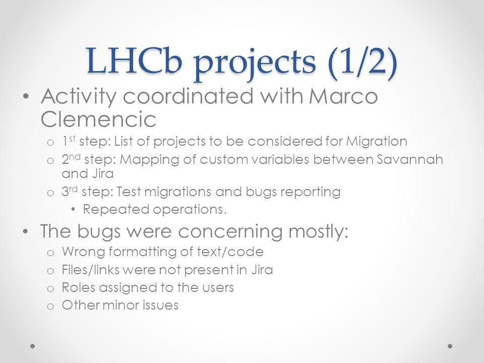 Savannah to Jira Migration LHCb Computing Workshop 19 th of May ppt