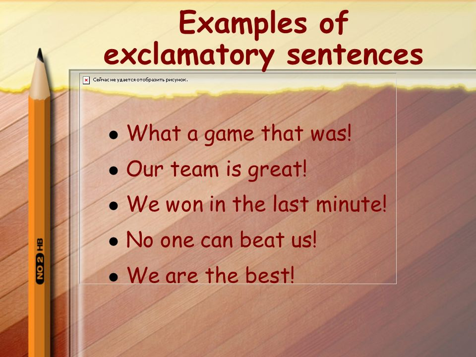 Exclamatory Or Imperative Sentences What Is An Exclamatory Sentence