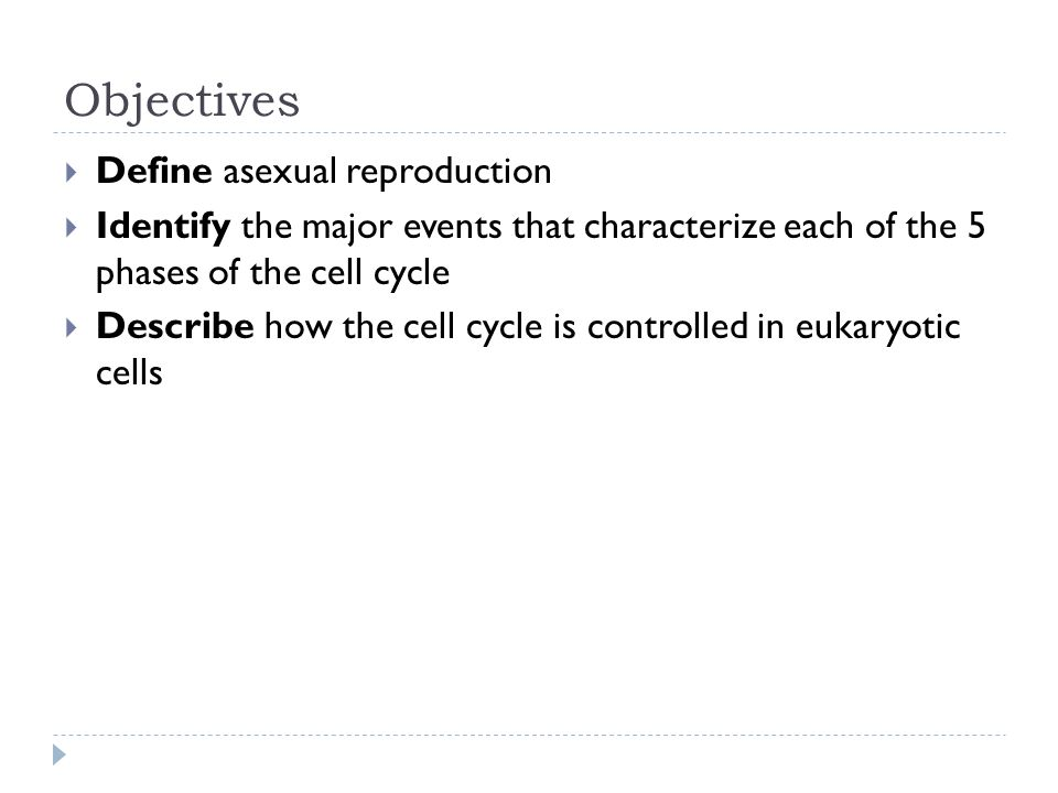 Asexual reproduction define biology major
