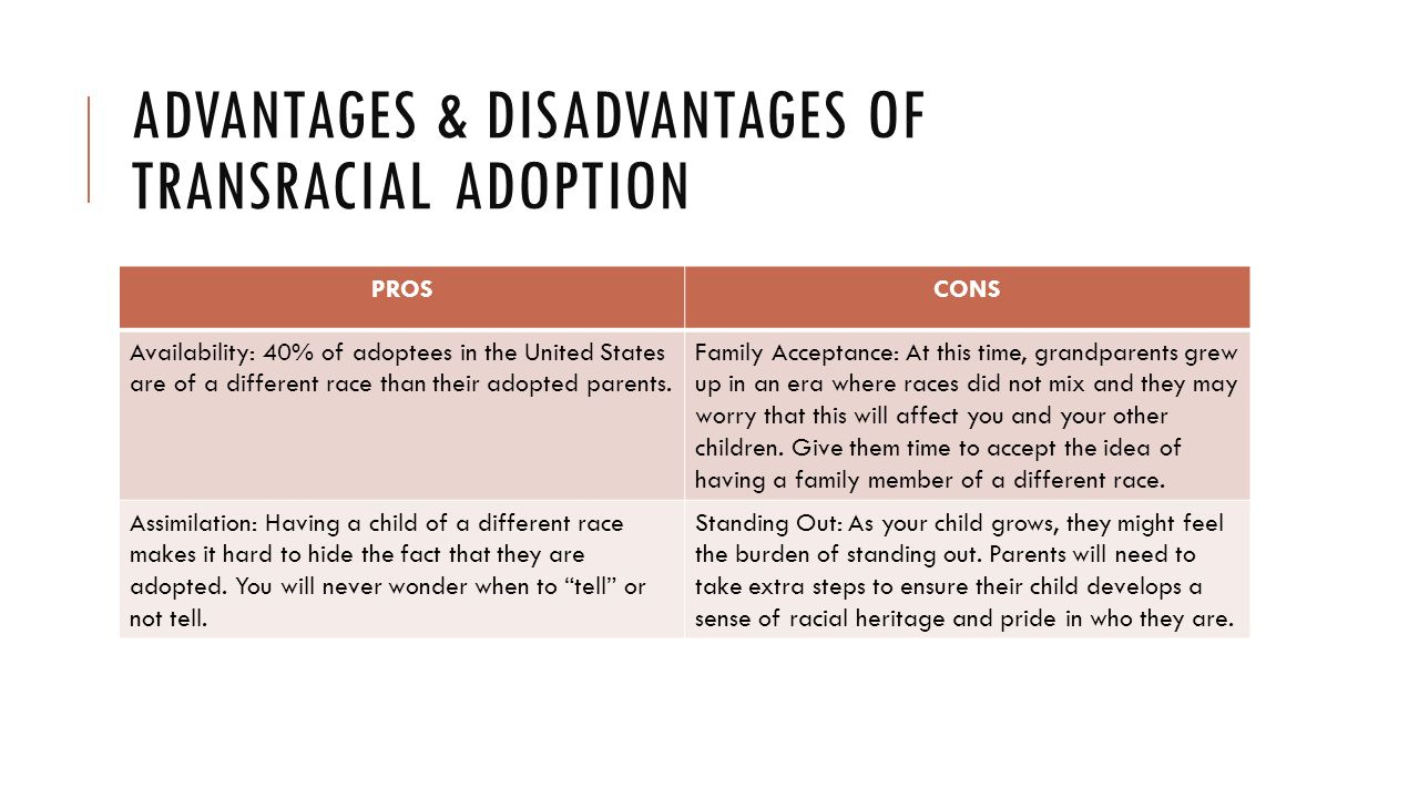 Advantages of interracial adoption — photo 12