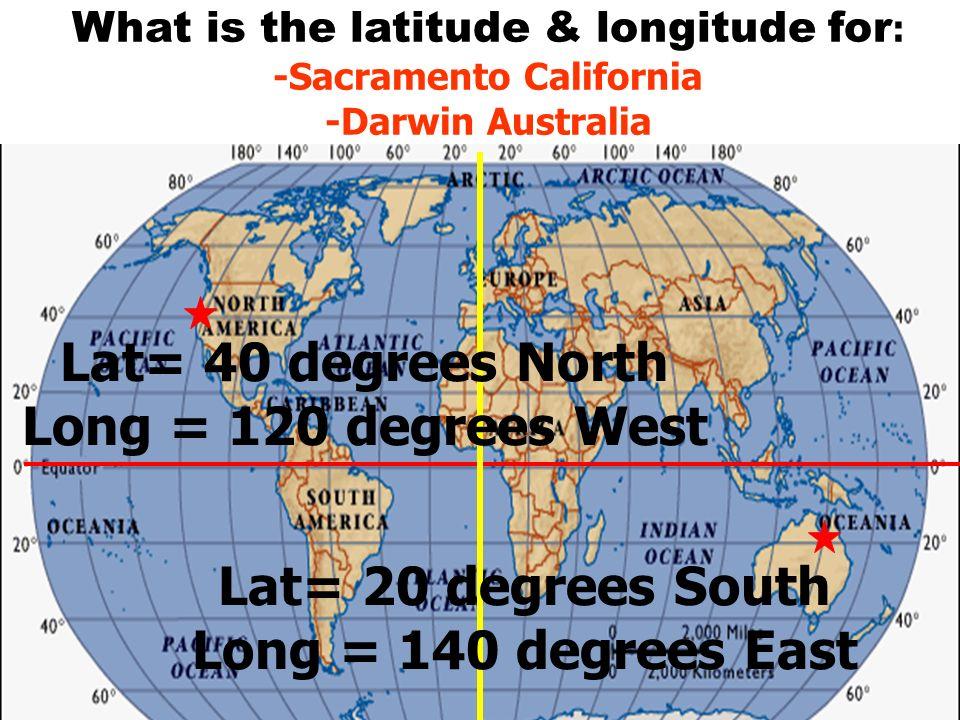 Map Of Australia Longitude And Latitude Lines.Maps Topic Latitude And Longitude Objectives Day 1 Of 3 To Know
