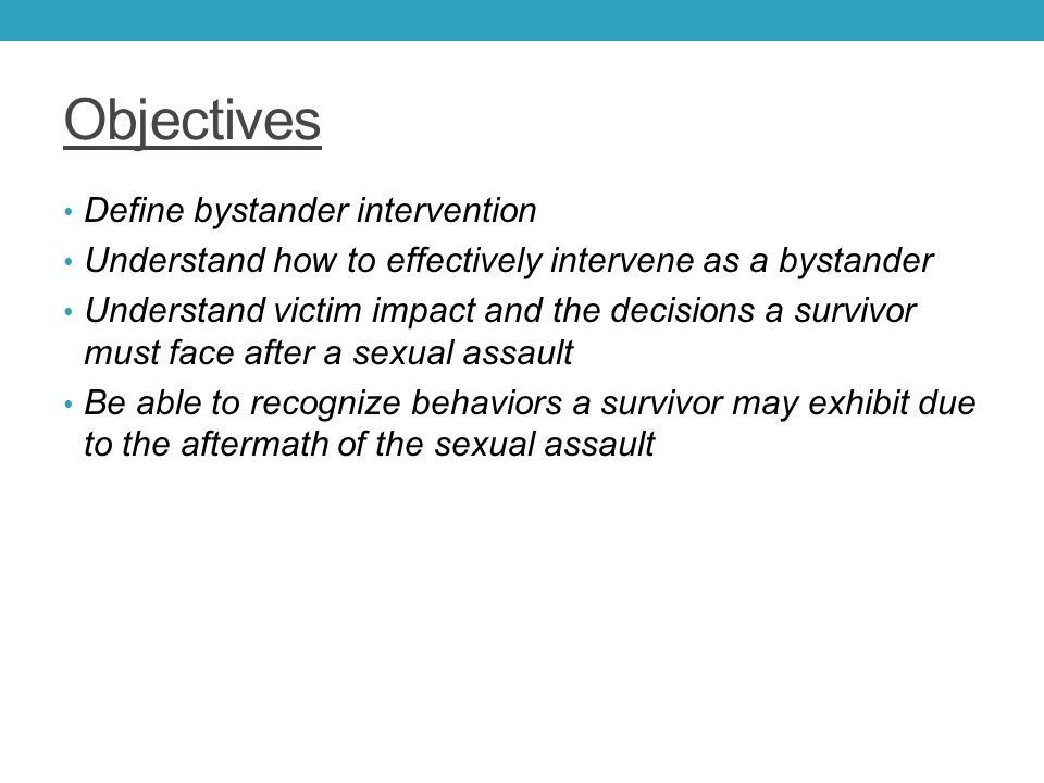 do bystanders have a responsibility to intervene Bystander effect: bystander effect, the inhibiting influence of the presence of others on a person's willingness to help someone in need research has shown that, even in an emergency, a bystander is less likely to extend help when he or she is in the real or imagined presence of others than when he or she is alone.