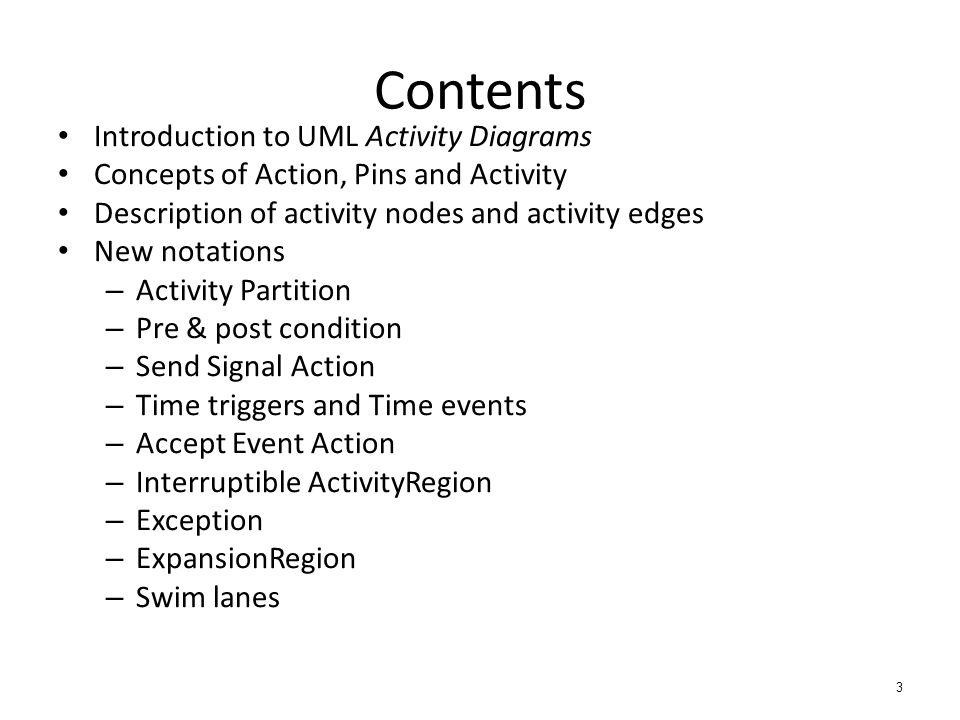 Uml activity diagram 1 recap formal use case diagram uml notation 3 contents introduction to uml activity diagrams ccuart Choice Image