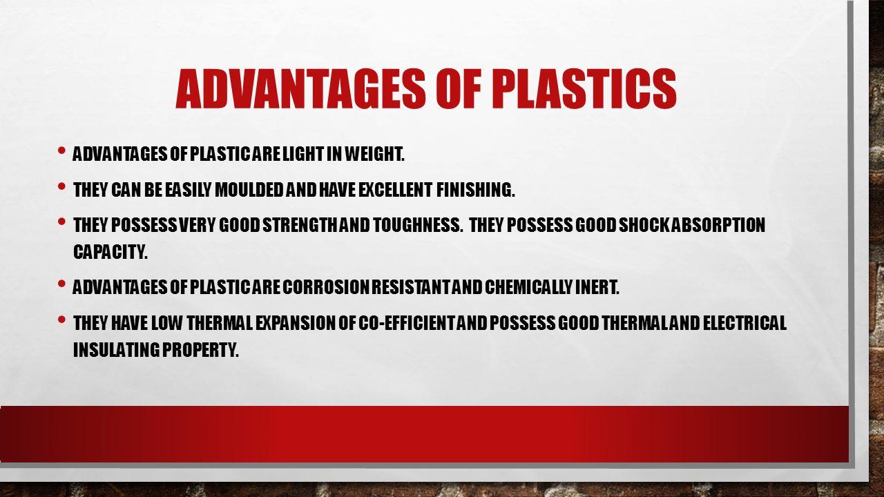 ADVANTAGES AND DISADVANTAGES OF PLASTICS MADE BY YASH SANYAM
