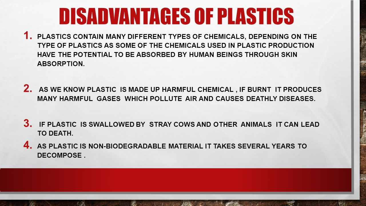 ADVANTAGES AND DISADVANTAGES OF PLASTICS MADE BY-YASH