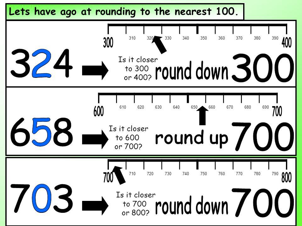 Resultado de imagen de rounding to the nearest hundred