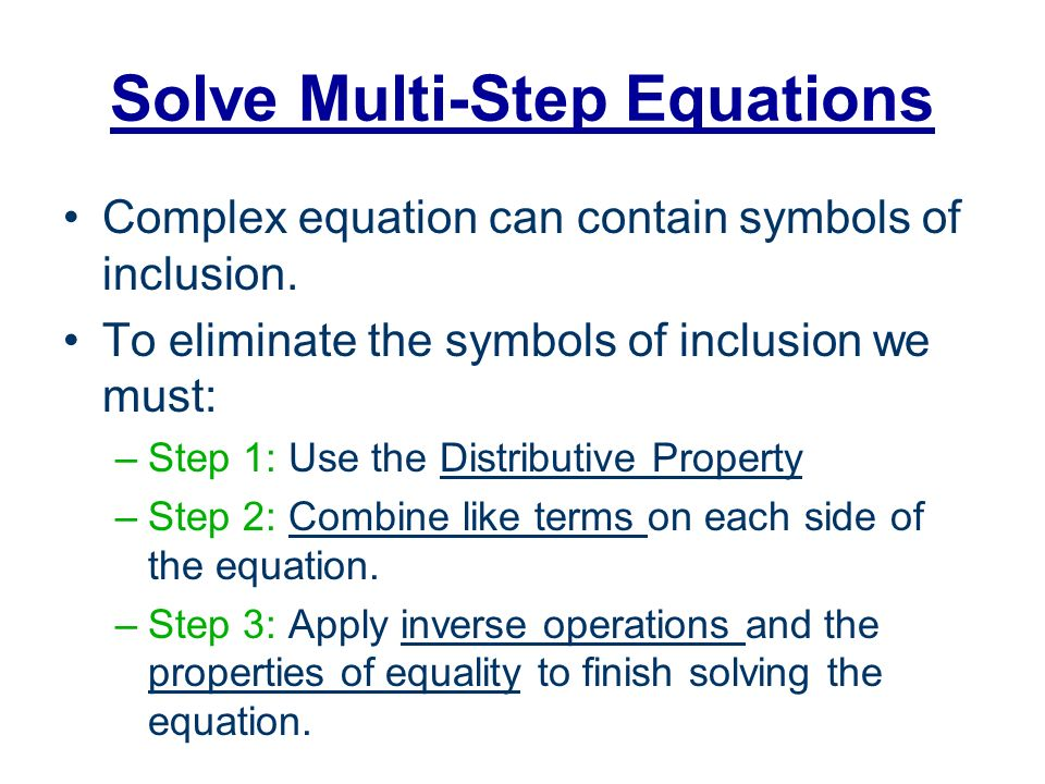 Bell Quiz Objectives Simplify Expressions Using Distributive