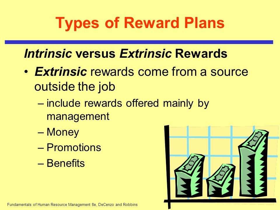 hrm types of rewards There are a number of different types of reward programs aimed at both individual and team performance variable pay variable pay or pay-for-performance is a compensation program in which a.