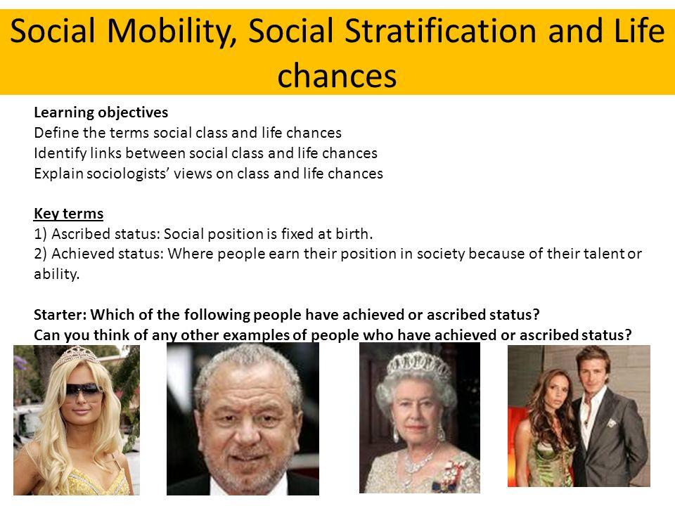 ascribed status sociology
