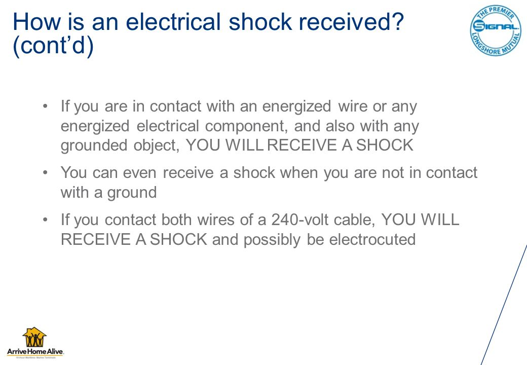 Electrical  Introduction An average of one worker is electrocuted on