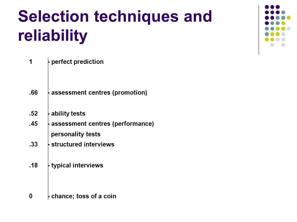 Effective selection interviewing  Introductions Domestic