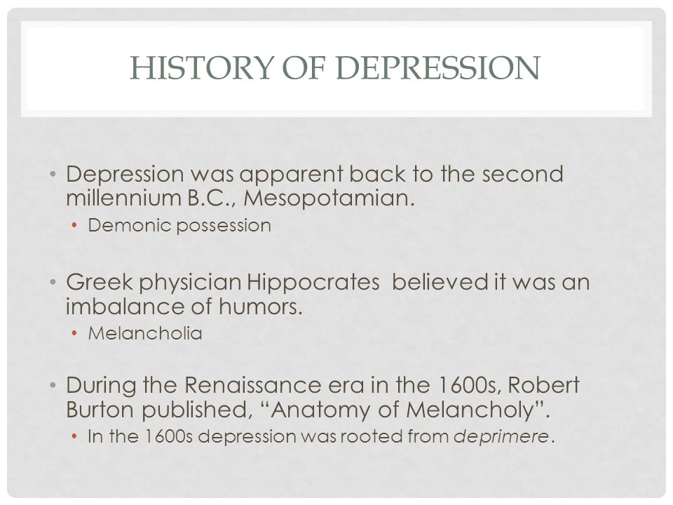 WHAT IS DEPRESSION? Depression is one of the most common mental ...