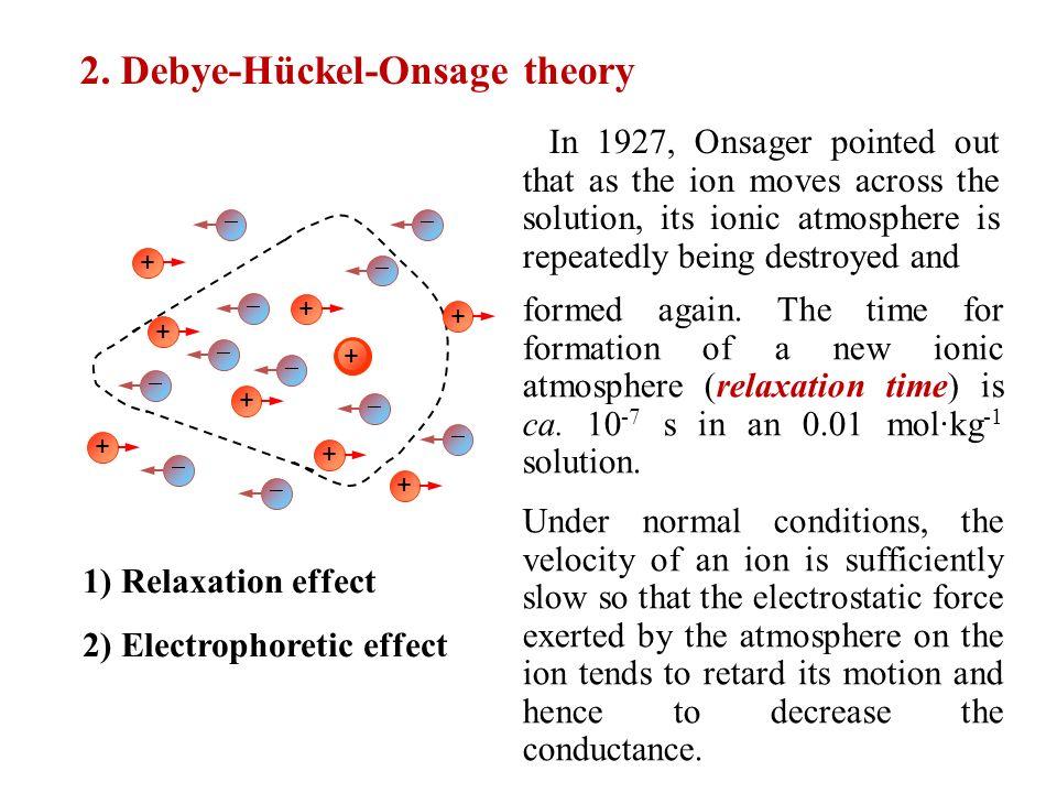 Debye huckel theory | debye huckel limiting law | part 2 youtube.