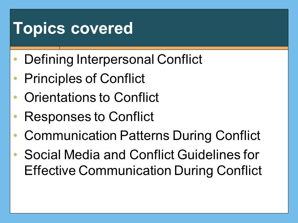 poor communications and conflict essay Explaining what caused conflict at workplace, the effects that contribute conflict to the employees, employers and products and the answer t based on research done by yuan (2010), workplace place conflict can be caused by the poor performance of international companies can often be.