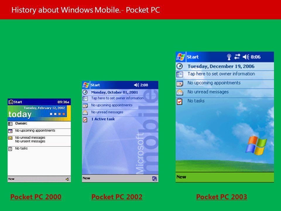 Software for windows mobile pocket pc