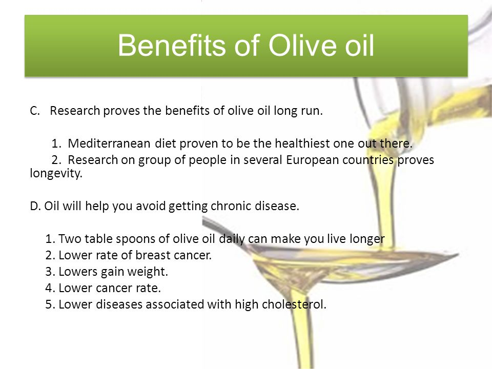 The Health Benefits of Olive Oil By Mona Douglas  - ppt download