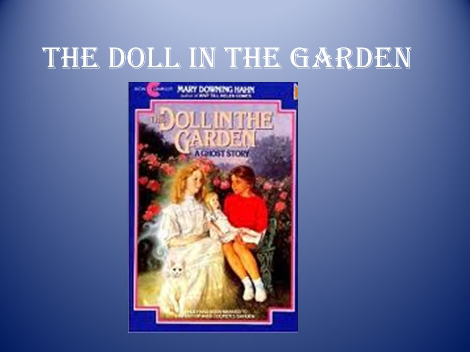 1 the doll in the garden - The Doll In The Garden