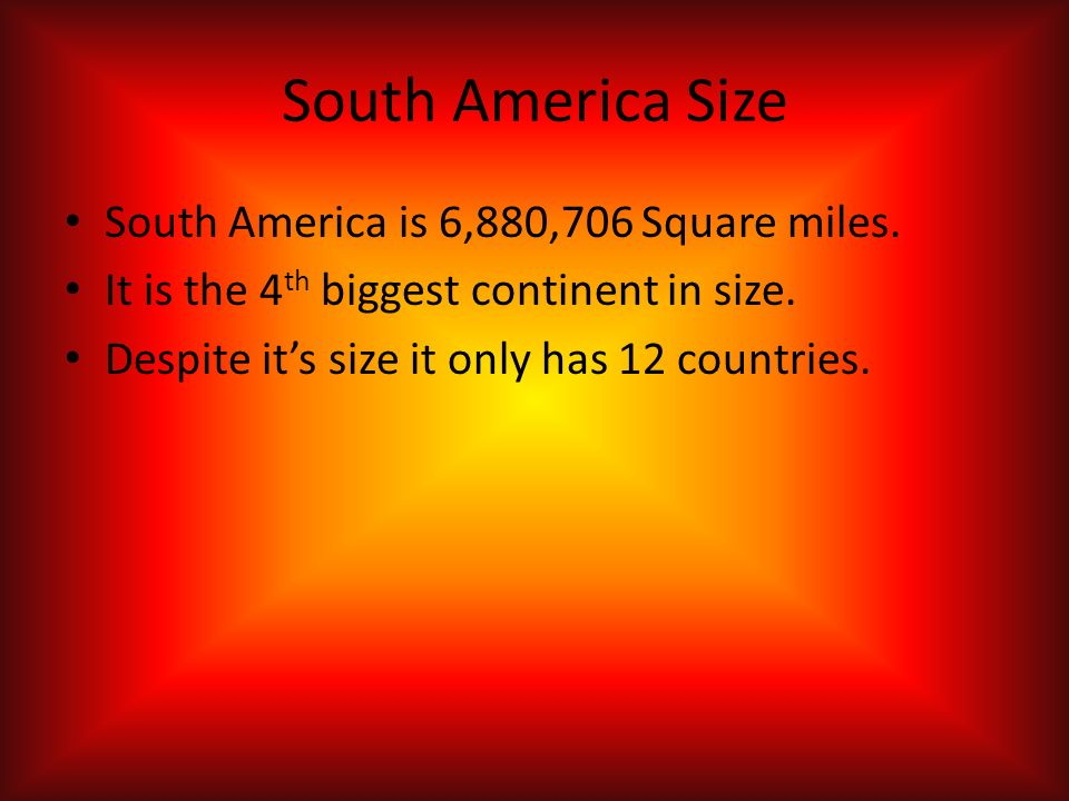 biggest continent by size