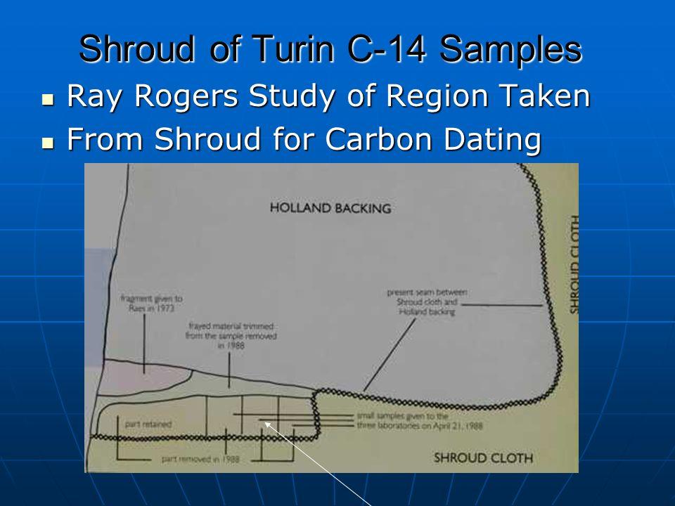 Shroud carbon dating