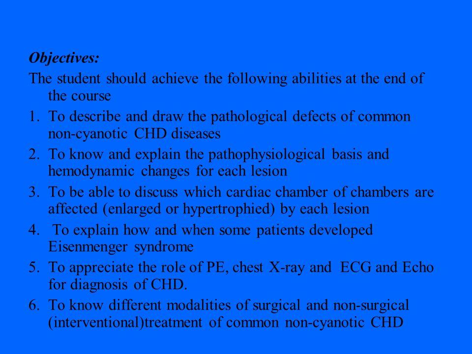 Acyanotic Congenital Heart Diseases Ajami GH  Professor of