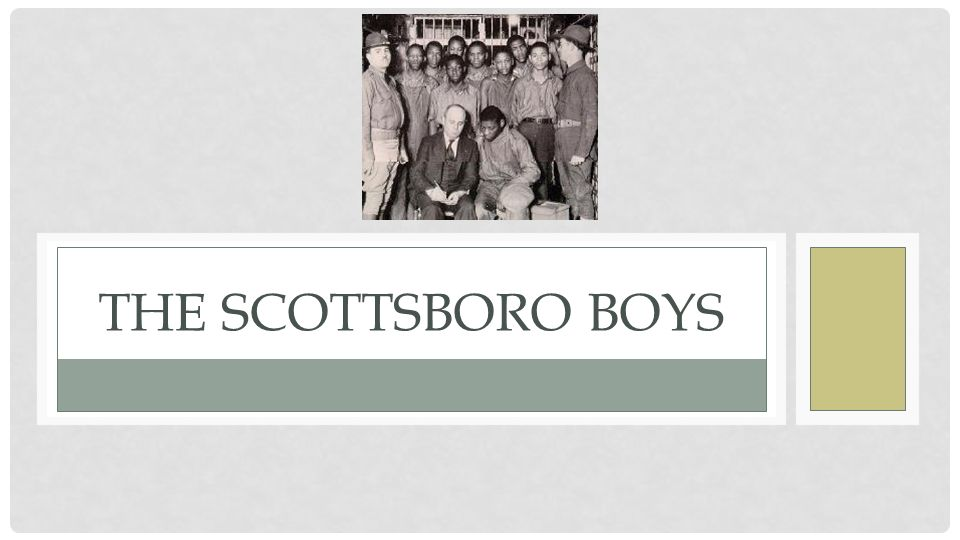 the tragedy of the scottsboro boys essay By: nick overmyer, bekah frampton, and brayden harris the trial of the scottsboro boys thesis statement why the trials are important to history: the scottsboro boys trial was an important piece of history because it was a big part and stepping stone of the civil rights movement, it also showed great.