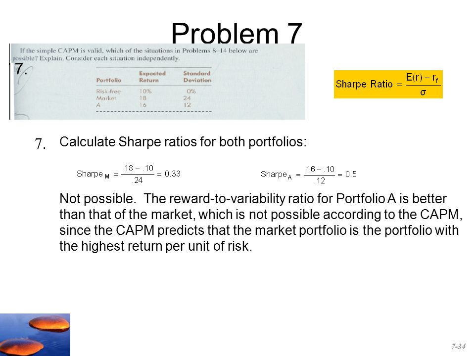 Chapter 7 Capital Asset Pricing And Arbitrage Pricing Theory