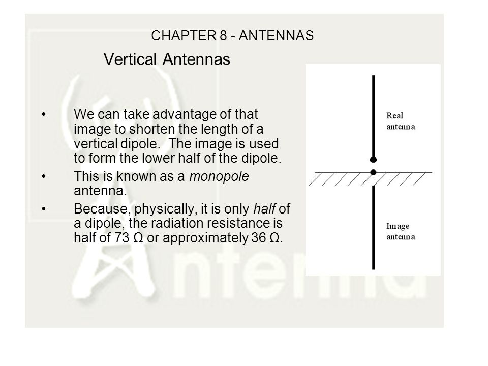 CHAPTER 8 - ANTENNAS CHAPTER 7 Review Characteristic