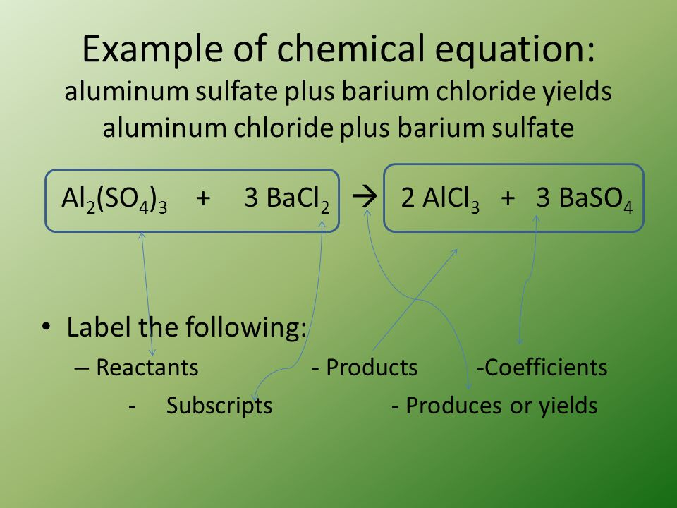 Chemical Equation Reaction Notes Chemical Reactions Occur When