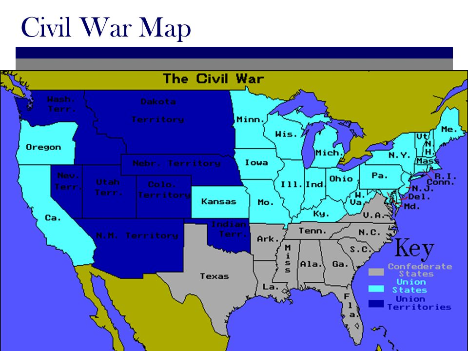 north and south civil war essay American history essays: why the north won the civil war  but there were many factors that swayed the war effort in favor of the north and impeded the south's.