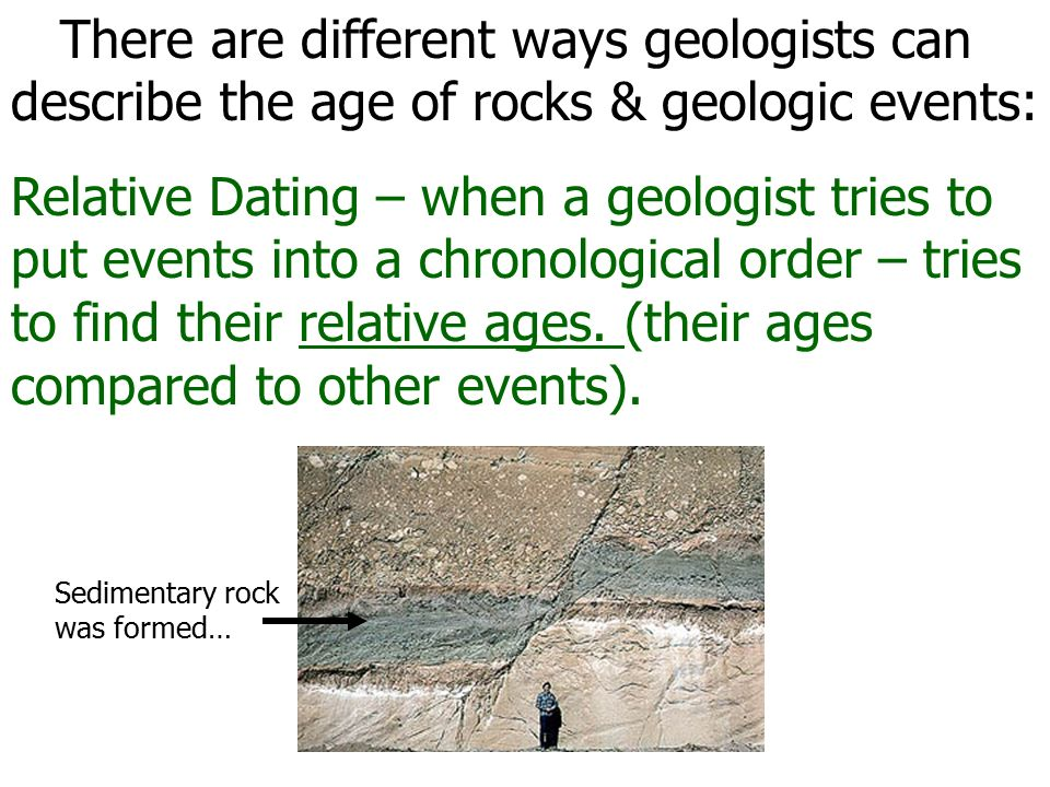 why cant you use radiometric dating on sedimentary rocks