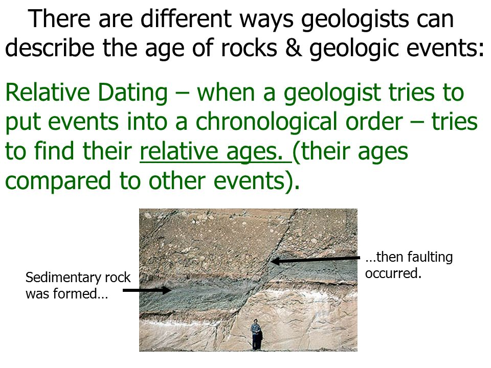 geologist dating
