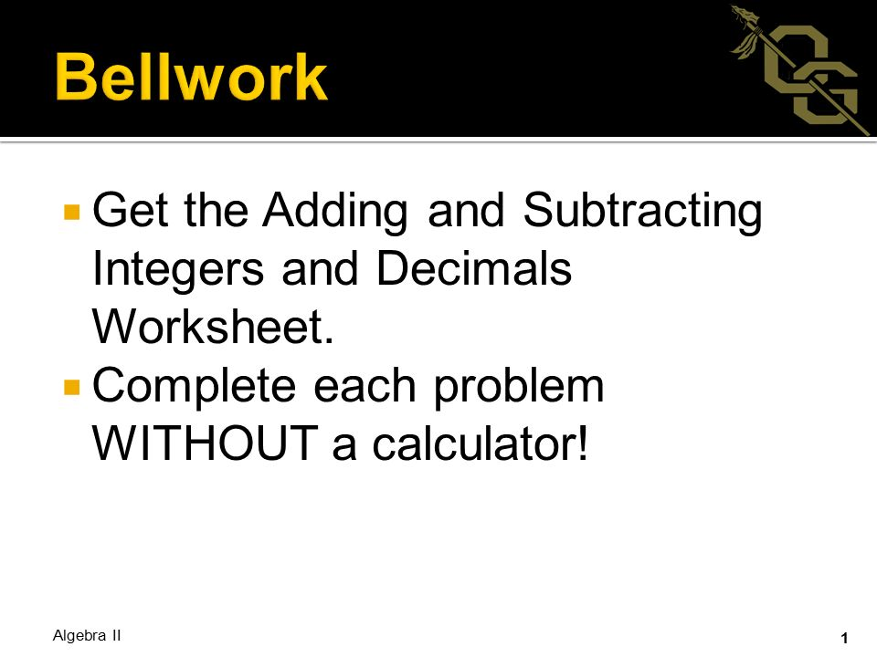 Get the Adding and Subtracting Integers and Decimals Worksheet ...