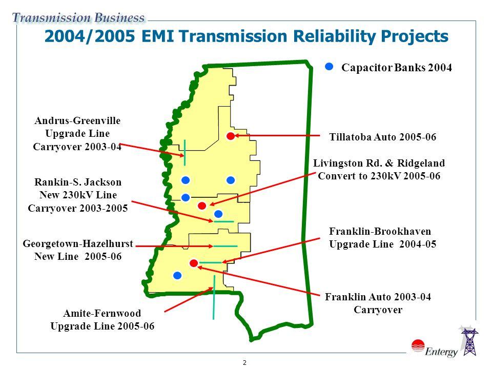 1 Entergy Mississippi, Inc  Proposed Transmission