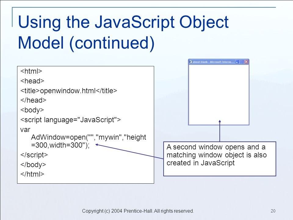 Project 3: Understanding the JavaScript Object Model Essentials for
