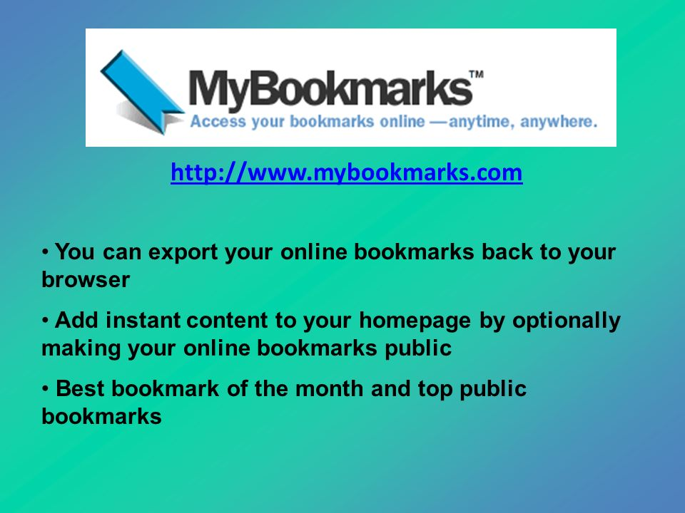 taking them with you portable bookmarks what s the difference