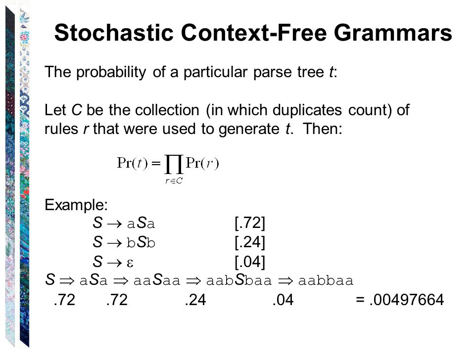 Context-Free Grammars Normal Forms Chapter 11  Normal Forms A normal