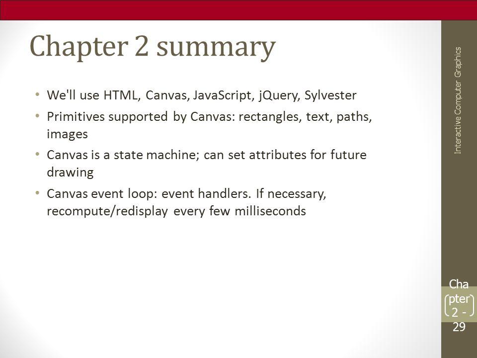 CS 490: Computer Graphics Graphics Programming and HTML