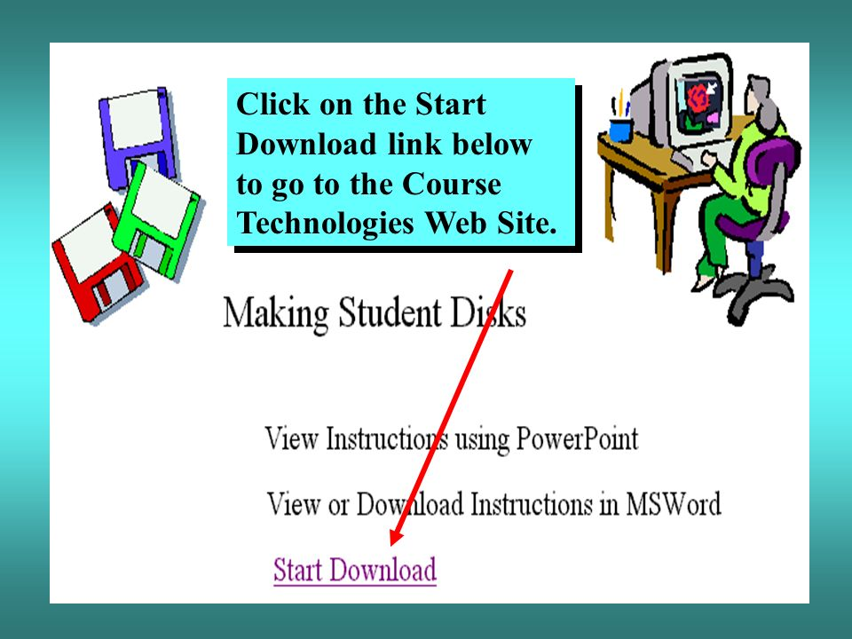 Microsoft Access 2000 Creating Student Data Disks  - ppt