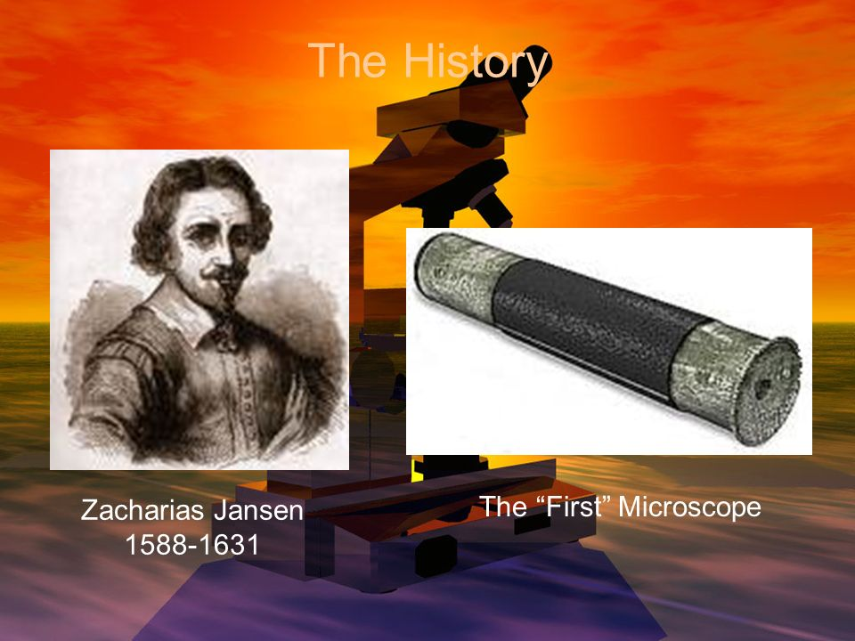who made the first compound microscope
