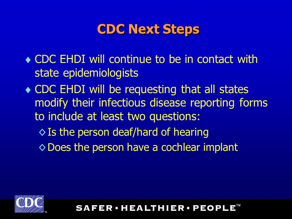 TM Centers for Disease Control and Prevention National