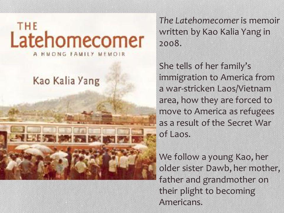 the latehomecomer summary