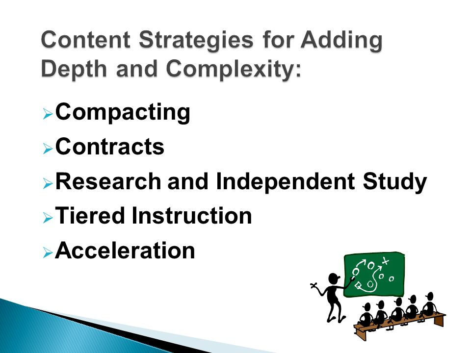 Differentiation Content Strategies Compacting Contracts Tiered