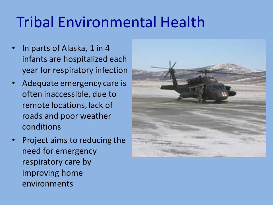 Improving Indoor Air Quality in Alaska Native and other Indigenous